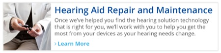 Hearing Aid Repair and Maintenance